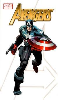 Cover Thumbnail for Avengers (Marvel, 2010 series) #1 [Gatefold Variant Cover]