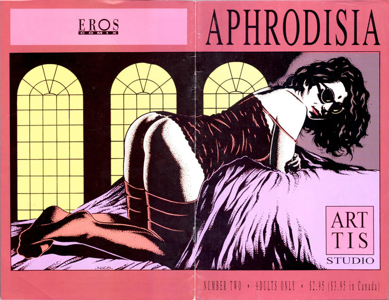Cover for Aphrodisia (Fantagraphics, 1995 series) #2
