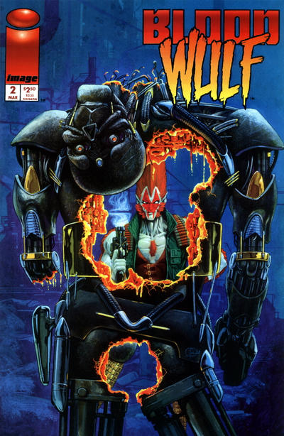 Cover for Bloodwulf (Image, 1995 series) #2