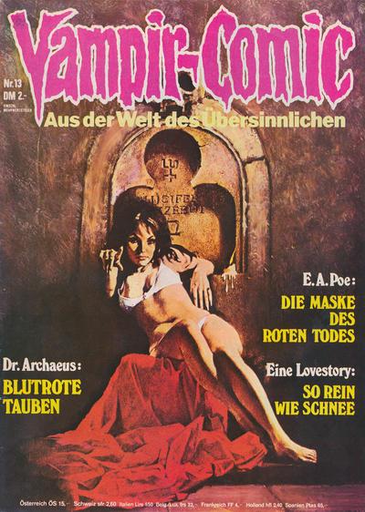 Cover for Vampir-Comic (Pabel Verlag, 1974 series) #13