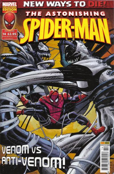 Cover for Astonishing Spider-Man (Panini UK, 2009 series) #14