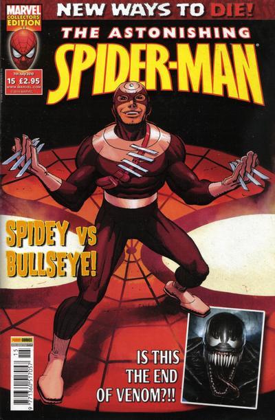 Cover for Astonishing Spider-Man (Panini UK, 2009 series) #15