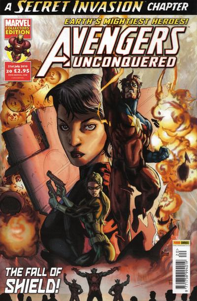 Cover for Avengers Unconquered (Panini UK, 2009 series) #20