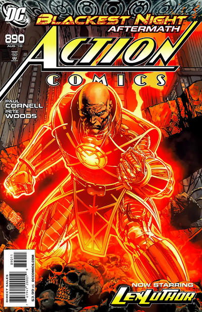Cover for Action Comics (DC, 1938 series) #890 [Regular Direct Cover]