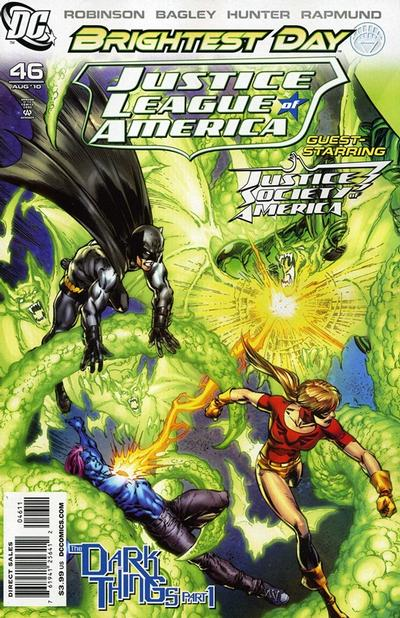 Cover for Justice League of America (DC, 2006 series) #46 [Francis Manapul Cover]