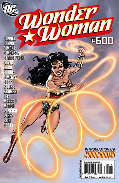 Cover for Wonder Woman (DC, 2006 series) #600 [Adam Hughes Sketch Variant]
