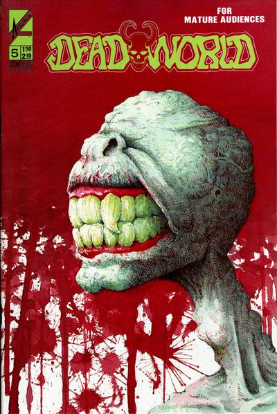 Cover for Deadworld (Arrow, 1986 series) #5 [Graphic Variant]