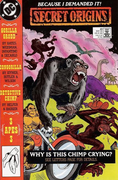 Cover for Secret Origins (DC, 1986 series) #40 [Direct]