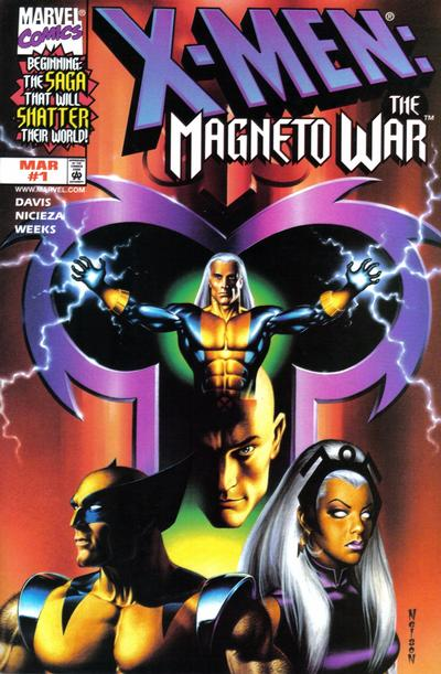 Cover for X-Men: Magneto War (Marvel, 1999 series) #1 [Direct Edition]
