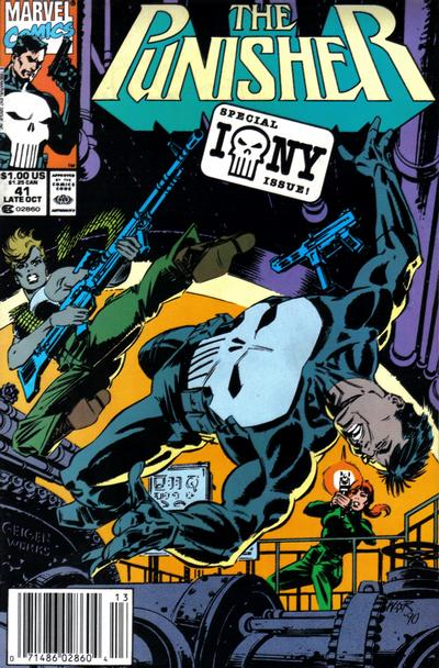 Cover for The Punisher (Marvel, 1987 series) #41 [Direct]