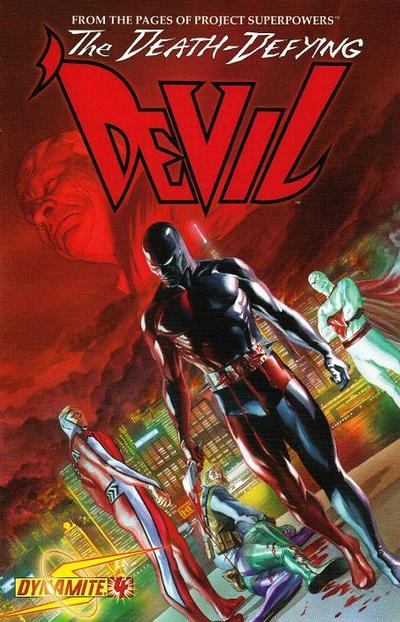 Cover for Death-Defying 'Devil (Dynamite Entertainment, 2008 series) #4 [Edgar Salazar Cover]