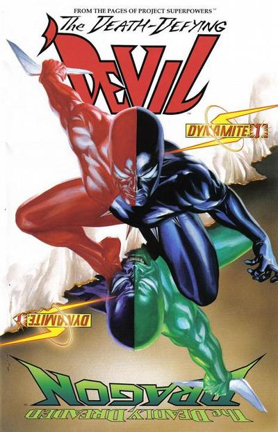 Cover for Death-Defying 'Devil (Dynamite Entertainment, 2008 series) #1 [Edgar Salazar]