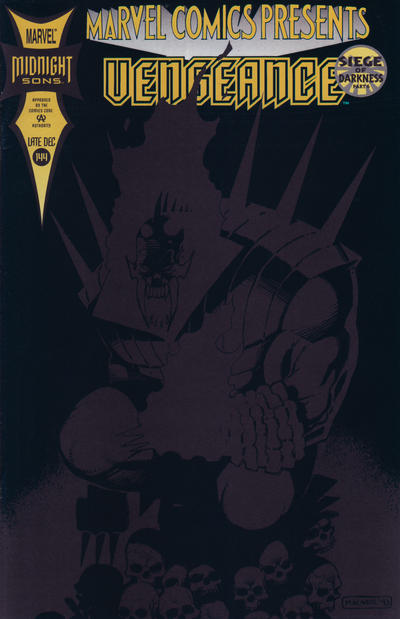 Cover for Marvel Comics Presents (Marvel, 1988 series) #144 [Direct]