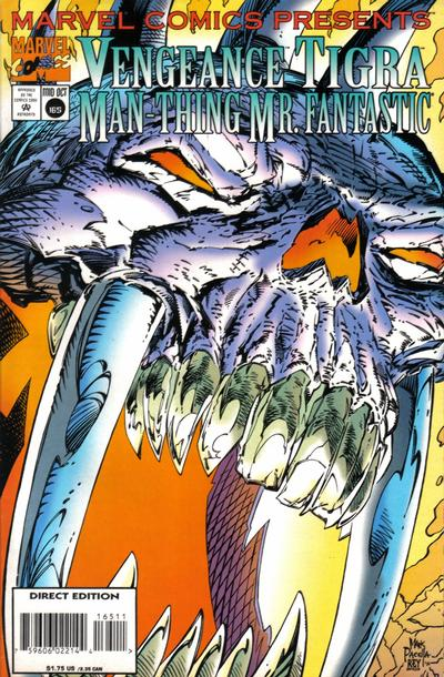 Cover for Marvel Comics Presents (Marvel, 1988 series) #165