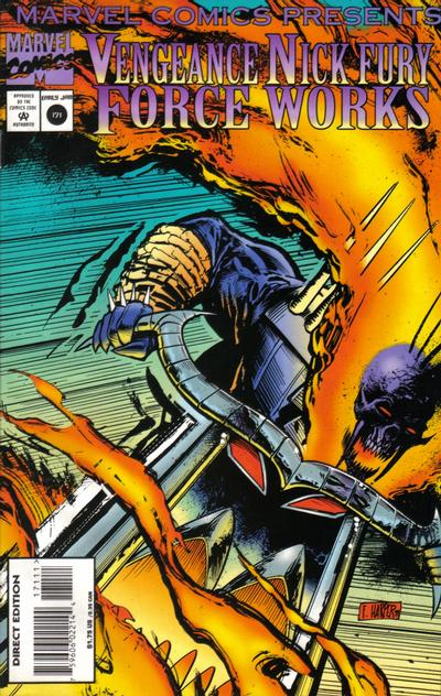 Cover for Marvel Comics Presents (Marvel, 1988 series) #171