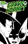 Cover Thumbnail for Green Hornet (2010 series) #5 [Black-and-White Variant - John Cassaday]