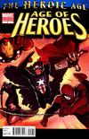 Cover for Age of Heroes (Marvel, 2010 series) #1 [2nd Printing]