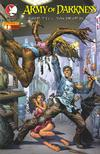 Cover for Army of Darkness: Shop Till You Drop Dead (Devil's Due Publishing, 2005 series) #1 [Cover B Eric Ebas Cover]