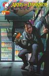 Cover for Army of Darkness: Shop Till You Drop Dead (Devil's Due Publishing, 2005 series) #1 [Cover C Richard Isanove Cover]