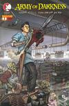 Cover for Army of Darkness: Shop Till You Drop Dead (Devil's Due Publishing, 2005 series) #1 [Cover E Paolo Rivera Cover]