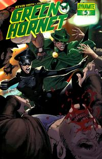 Cover Thumbnail for Green Hornet (Dynamite Entertainment, 2010 series) #5 [Joe Benitez Cover]