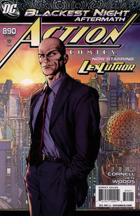 Cover Thumbnail for Action Comics (DC, 1938 series) #890 [Variant Cover (1 in 10)]