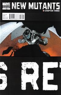 Cover Thumbnail for New Mutants (Marvel, 2009 series) #12 [3rd Print Variant]