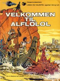 Cover Thumbnail for Linda og Valentin (Carlsen, 1975 series) #2 - Velkommen til Alflolol