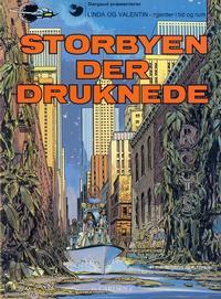 Cover Thumbnail for Linda og Valentin (Carlsen, 1975 series) #7 - Storbyen der druknede