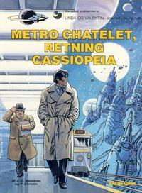 Cover Thumbnail for Linda og Valentin (Carlsen, 1975 series) #9 - Metro Chatelet, retning Cassiopeia