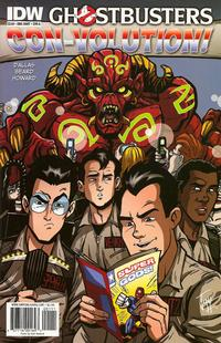 Cover Thumbnail for Ghostbusters: Con-Volution (IDW, 2010 series) #[nn] [Cover A]