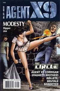 Cover Thumbnail for Agent X9 (Hjemmet / Egmont, 1998 series) #7/2010