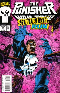 Cover Thumbnail for The Punisher: War Zone (Marvel, 1992 series) #24 [Direct Edition]