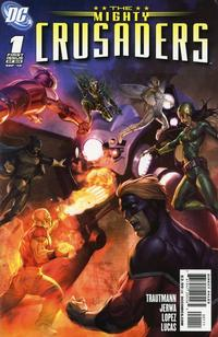 Cover Thumbnail for The Mighty Crusaders (DC, 2010 series) #1