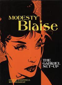 Cover Thumbnail for Modesty Blaise (Titan, 2004 series) #[1] - The Gabriel Set-Up