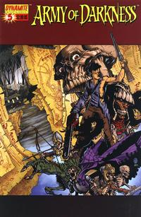 Cover for Army of Darkness (Dynamite Entertainment, 2005 series) #5 [B&W RI]
