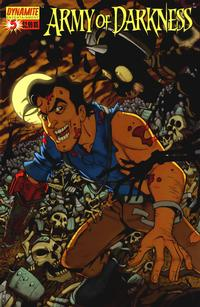 Cover Thumbnail for Army of Darkness (Dynamite Entertainment, 2005 series) #5 [Cover C - Fabio Laguna]
