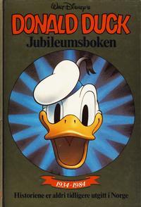 Cover Thumbnail for Donald Duck bøker [Gullbøker] (Hjemmet / Egmont, 1984 series) #[1984] - Jubileumsboken