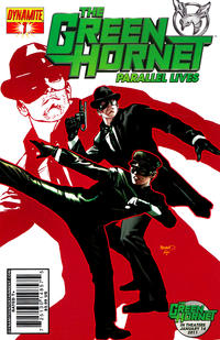 Cover Thumbnail for Green Hornet: Parallel Lives (Dynamite Entertainment, 2010 series) #1