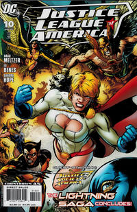 Cover for Justice League of America (DC, 2006 series) #10 [Standard Cover]