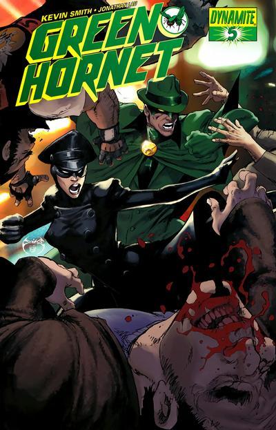 Cover for Green Hornet (Dynamite Entertainment, 2010 series) #5 [John Cassaday Cover]