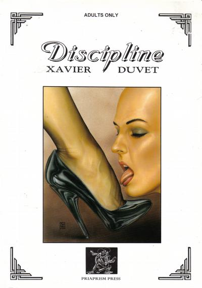 Cover for Discipline (Last Gasp, 1998 series)