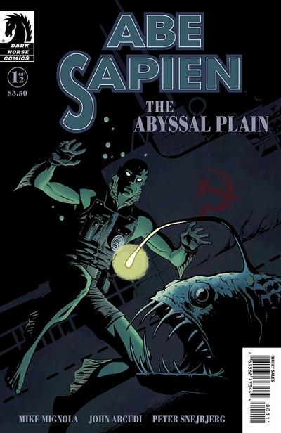 Cover for Abe Sapien: The Abyssal Plain (Dark Horse, 2010 series) #1 [Standard Cover]