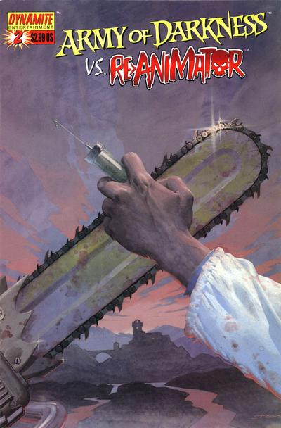 Cover for Army of Darkness (Dynamite Entertainment, 2005 series) #2 [Boomstick Foil]
