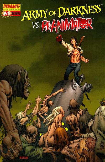 Cover for Army of Darkness (Dynamite Entertainment, 2005 series) #3 [Cover A]