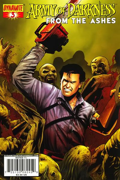 Cover for Army of Darkness (Dynamite Entertainment, 2007 series) #3 [Fabiano Neves Cover]