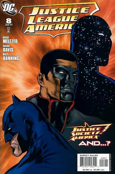 Cover for Justice League of America (DC, 2006 series) #8 [Standard Cover]