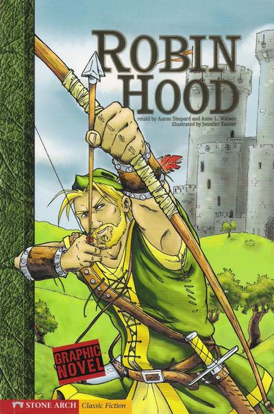 Cover for Robin Hood (Capstone Publishers, 2007 series)
