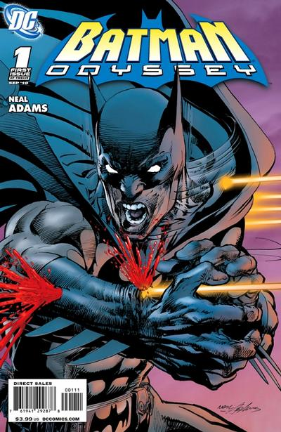 Cover for Batman: Odyssey (DC, 2010 series) #1 [Regular cover]