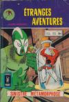 Cover for Etranges Aventures (Arédit-Artima, 1966 series) #60